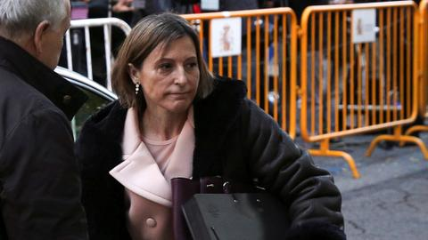 Spanish Supreme Court frees Catalan parliament speaker on bail