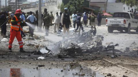 Deadly terrorist attack hits Somali police headquarters