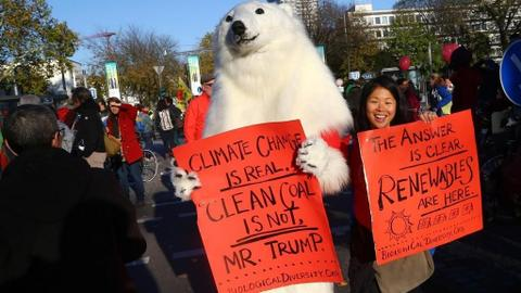 US is the only objector at Bonn climate talks