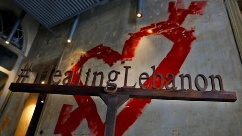 Healing civil war wounds with art in Lebanon
