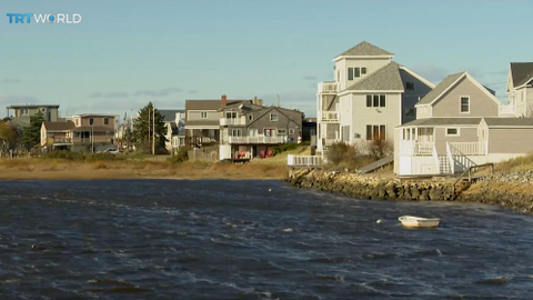 Climate change puts homes on Plum Island, Massachusetts at risk