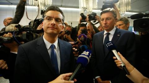 Incumbent president leads in Slovenia presidential election