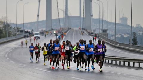 Frenchman and Kenyan win men's and women's Istanbul marathon