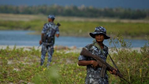 Myanmar army removes general in charge of Rakhine state