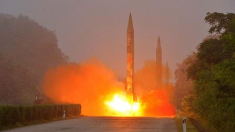 North Korea missile launch lands near Japan waters