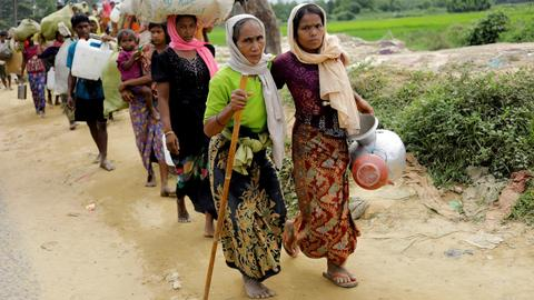 Human Rights Watch accuses Myanmar military of widespread rape