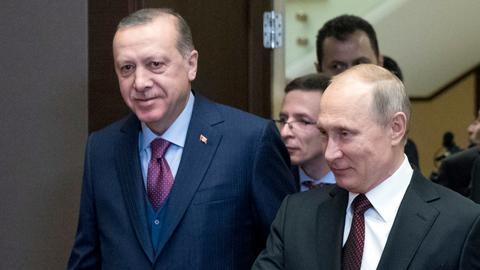 Erdogan to discuss Syria with Putin in Moscow talks