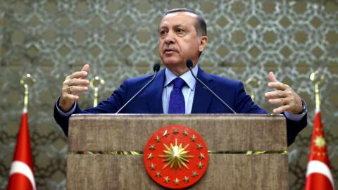 Erdogan says world should not ignore Syria, UN reform