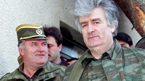 Mladic is facing 11 war crime charges, but some see him as a 'hero'