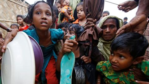 Many Rohingya children in Bangladesh camps miss school