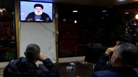 Hezbollah leader denies arming Houthi rebels in Yemen