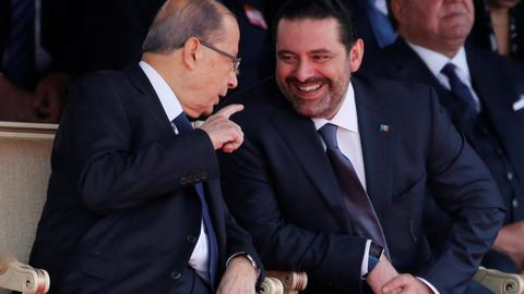 Lebanese PM Saad Hariri holds off resignation