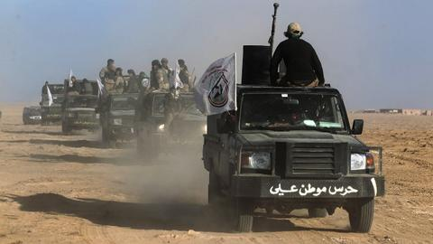 Iraqi forces say Daesh retreating deep into desert