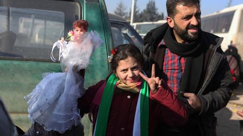 Many Syrians have not given up hope for the future of their country