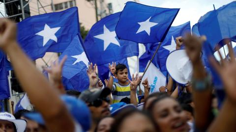 Honduras opposition candidate alleges fraud in presidential election