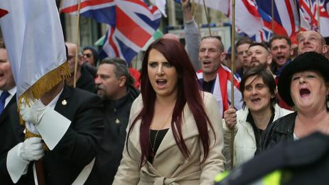 Who are Britain First, whose leader's posts Trump re-tweeted?