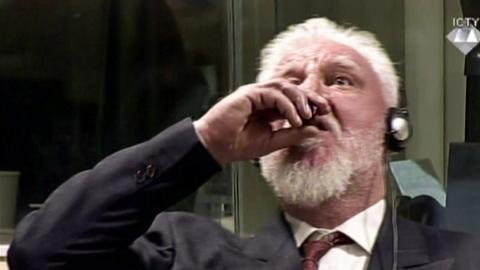 Dutch prosecutors probe Bosnian-Croat war criminal's 'assisted suicide'