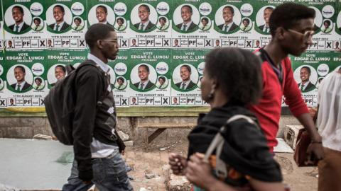 Lungu battles to hold power in Zambia election