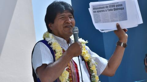 Bolivians protest Morales' decision to run for a fourth term