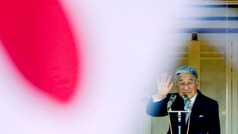 Japan's Emperor Akihito to abdicate on April 30, 2019