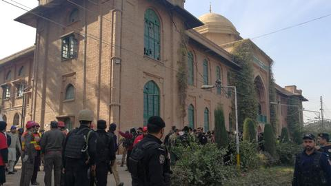 At least 9 killed as Taliban gunmen storm Pakistan university