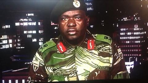 Mnangagwa brings Mugabe-era faces, military officials in cabinet