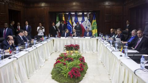 Advances but no deal in latest round of Venezuela political talks
