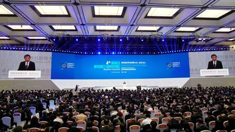 China's Xi says country will not close door to global internet
