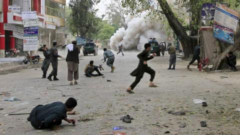 Motorcycle bomb kills at least five in Afghanistan's east