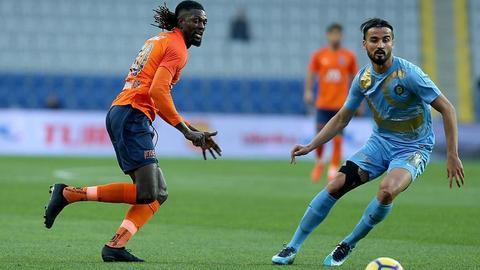 Football: Basaksehir claim top spot in Turkish league