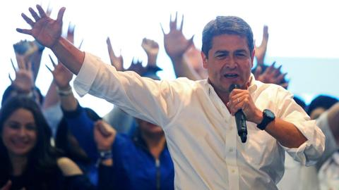 Honduras concludes vote count without any winner declared