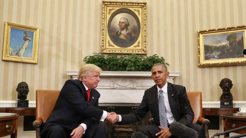 Trump trumped by Obama in 2017 Top 10 retweets
