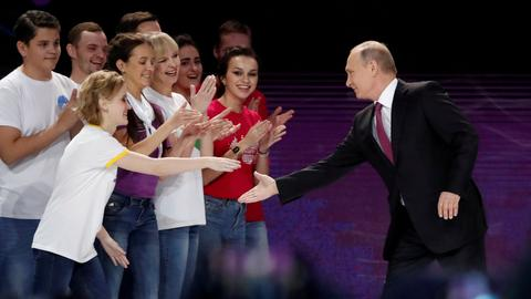 Russia's Putin says will seek new presidential term in 2018