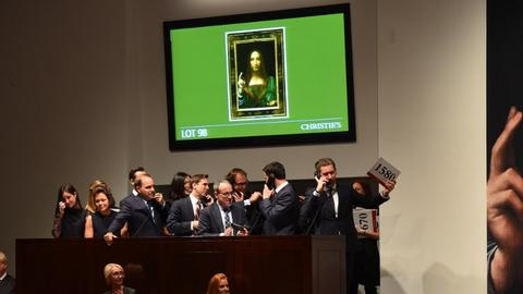 Da Vinci painting sold for $450M heads to Louvre Abu Dhabi
