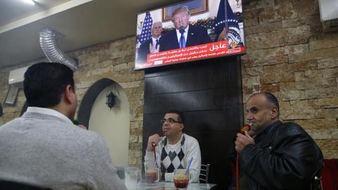 Social media react to Trump's decision on Jerusalem