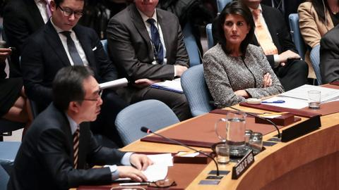 Isolated US defends Trump on Jerusalem at UN