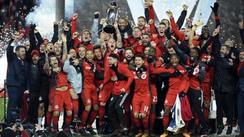 Toronto FC beat Seattle Sounders to lift first MLS Cup title