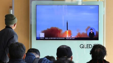 US-led drills aimed at 'tracking' missiles from North Korea