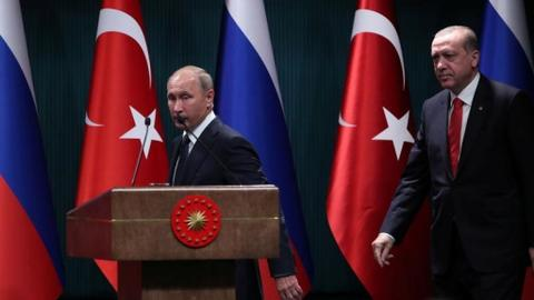 Jerusalem and Syria top Putin's agenda during his visit to Ankara