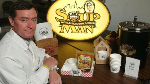 'Soup Nazi' company's former CFO pleads guilty to tax evasion