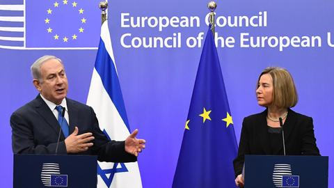 EU refuses to recognise Jerusalem as Israel's capital