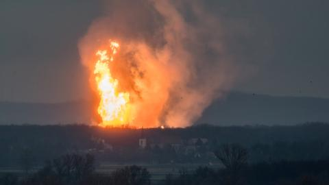 Explosion at major Austrian gas hub leaves one dead, 18 injured