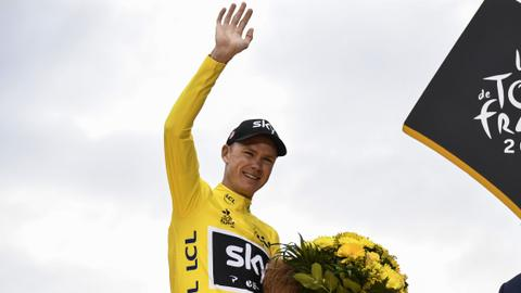 Cycling star Chris Froome fails drug test in Spain race