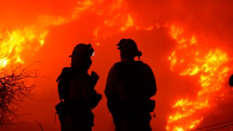 In Pictures: California wildfires continue to rage