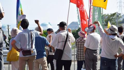 Japan nuclear reactor restarts amid protests and fears