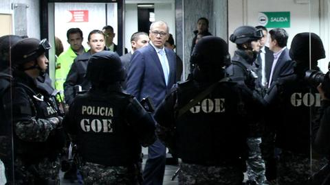 Ecuador vice president convicted of corruption