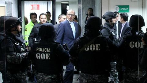 Ecuador vice president convicted of corruption