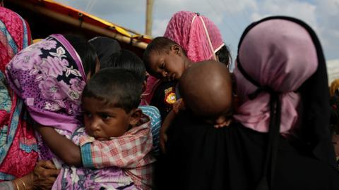 At least 6,700 Rohingya killed in Myanmar violence - MSF