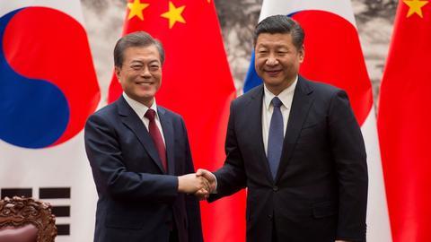 China, South Korea eye warmer ties following tensions