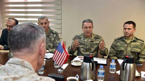 Post-Daesh era and YPG top agenda during US, Iraqi generals' Turkey visit